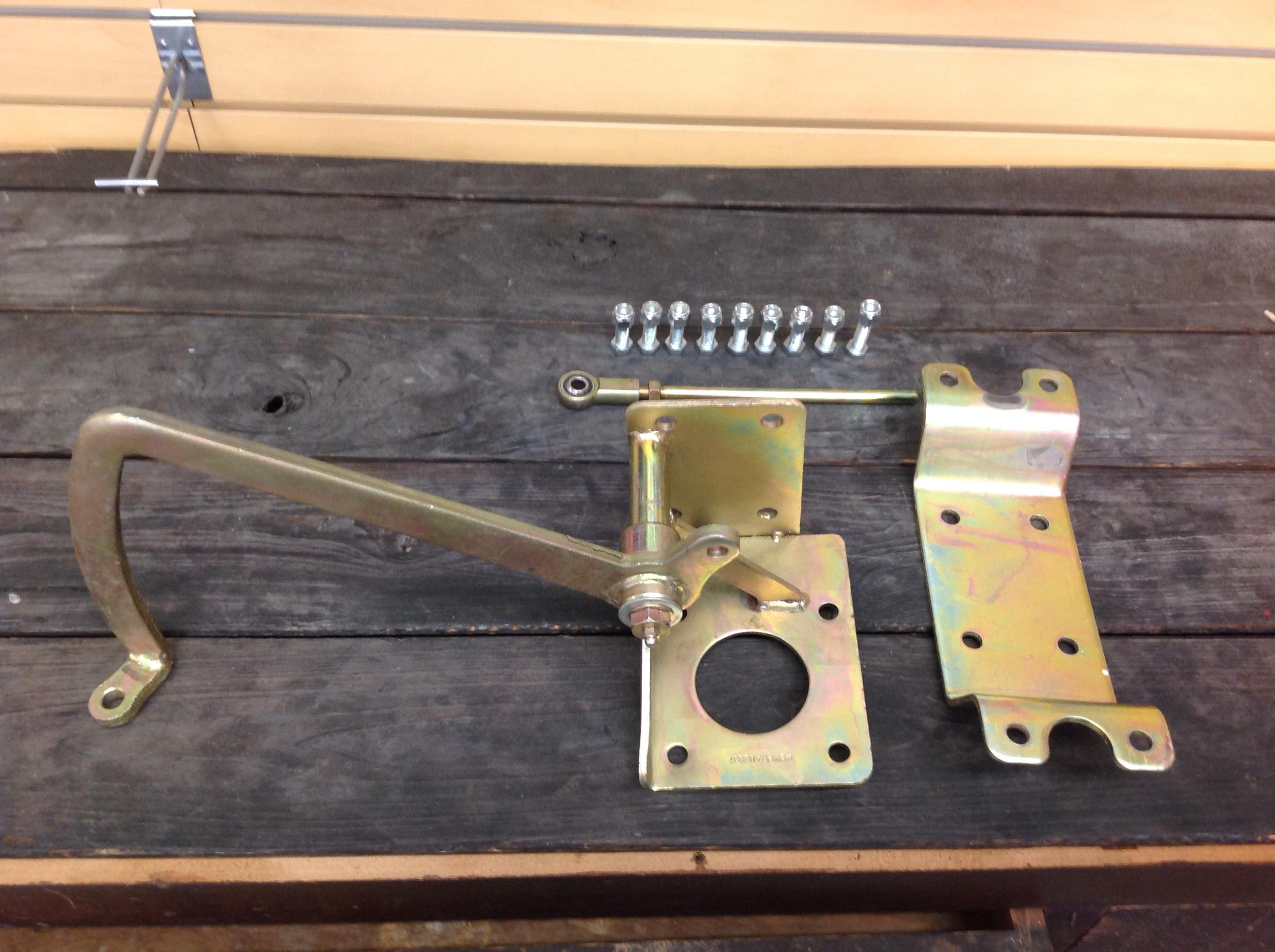 no reserve mbm under floor brake pedal master cylinder booster mount hot rat rod ebay. Black Bedroom Furniture Sets. Home Design Ideas