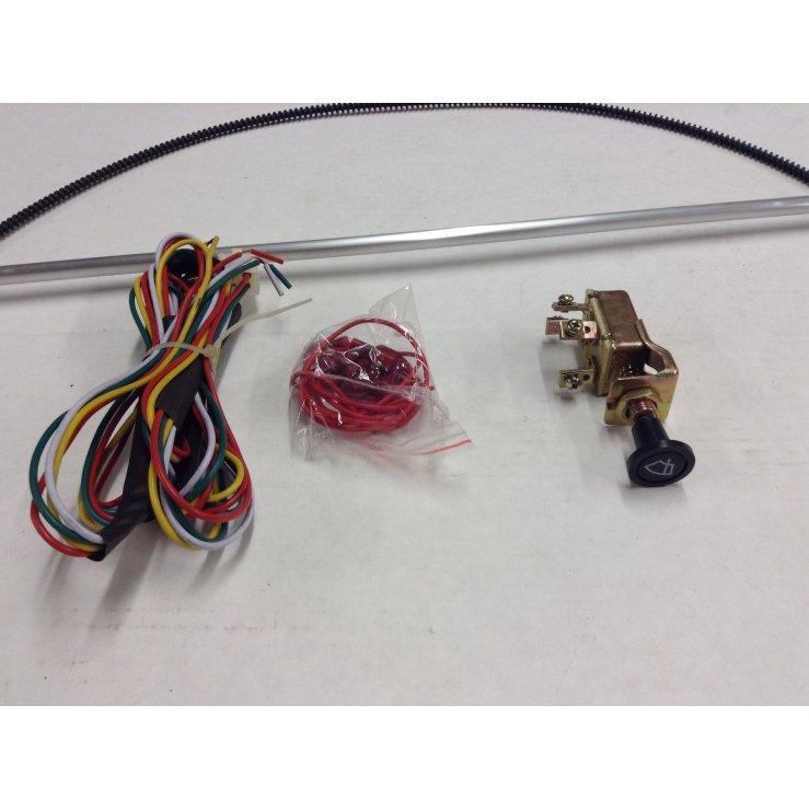 Ford wiper kit w wiring harness hot rod rat