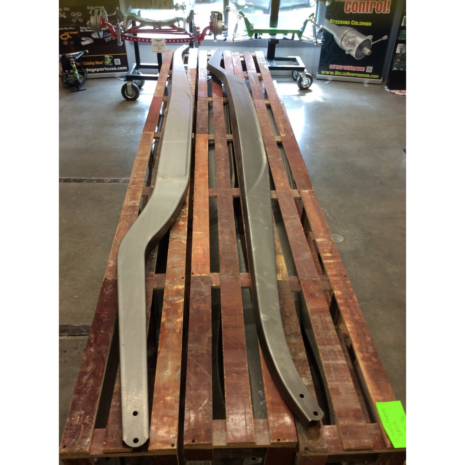 Heavy Duty 1932 Ford Stamped Frame Rails Chassis Model A B