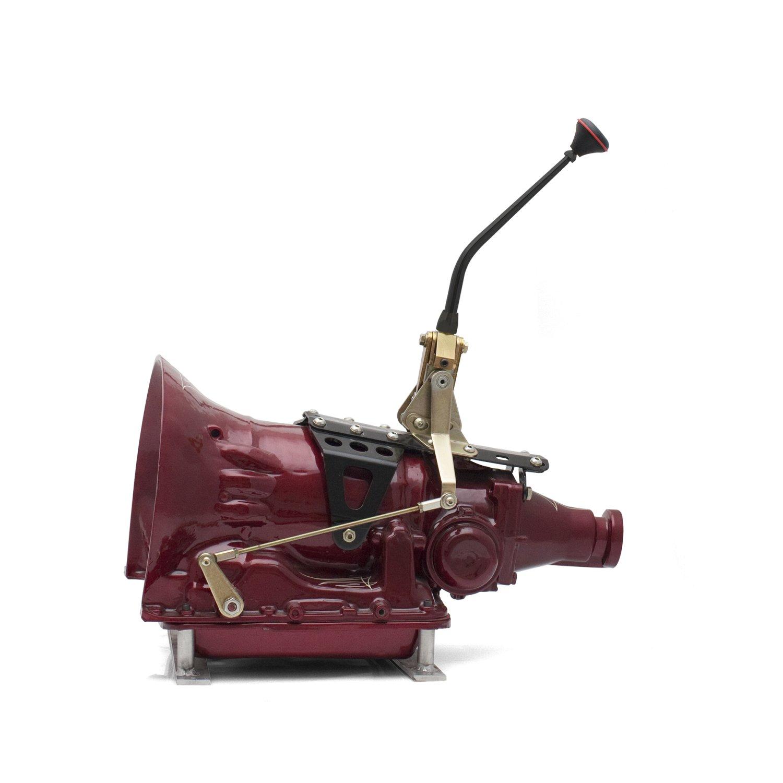 Gm Powerglide Transmission Shifter Kit 10 Single Bend