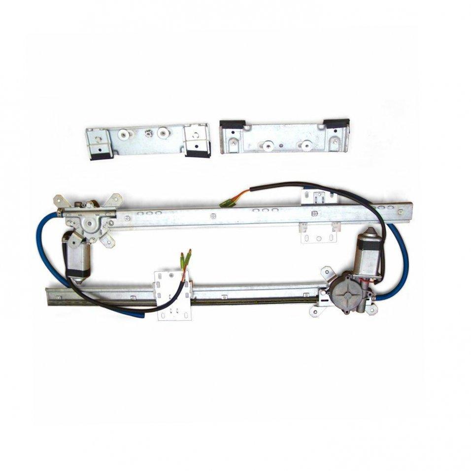 early hudson power window kit cable drive electric door panel hardware run felt