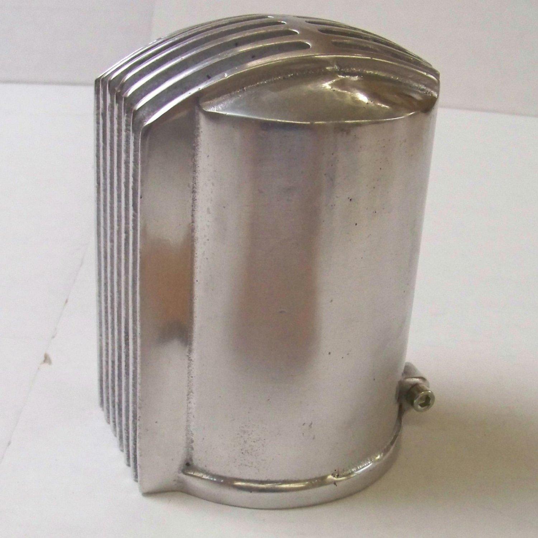 Vintage oil filter cannister