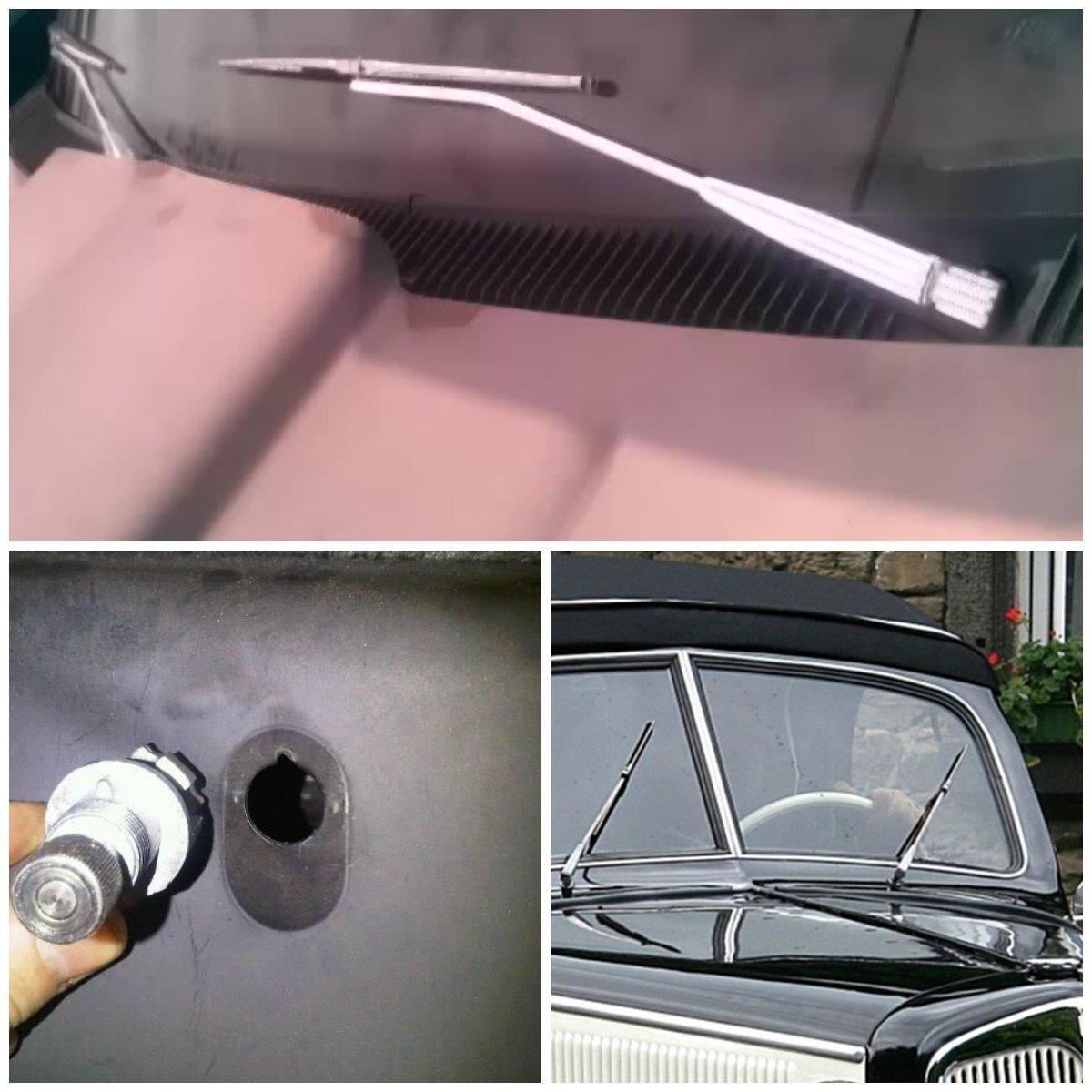 Pick up trucks premium billet windshield wiper kit ebay for Windshield wiper motor kit