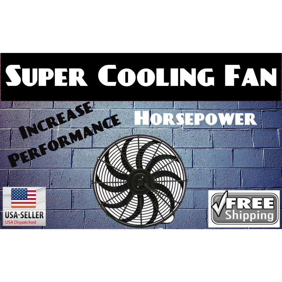 1959 ford consul 16 inch super duty radiator fan black for Consul performance