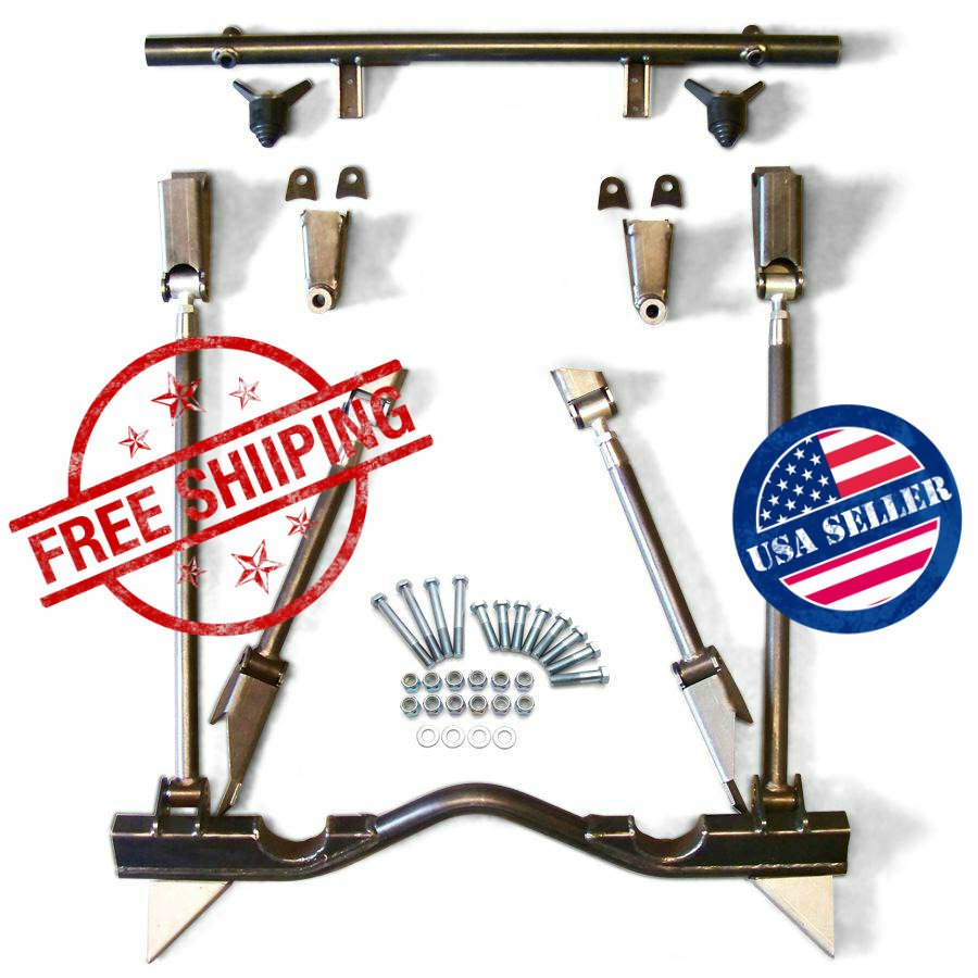 1976 chevrolet nova rear suspension 4 link kit drag road for Suspension decorative