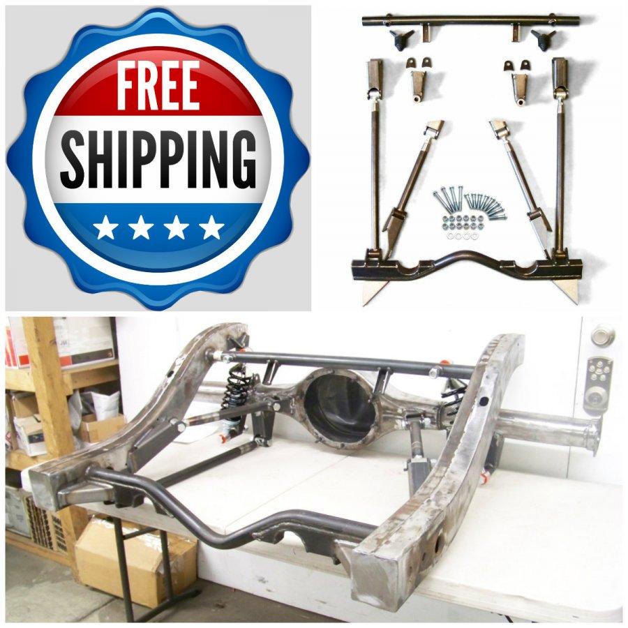 1969 chevrolet camaro rear suspension 4 link kit axle. Black Bedroom Furniture Sets. Home Design Ideas