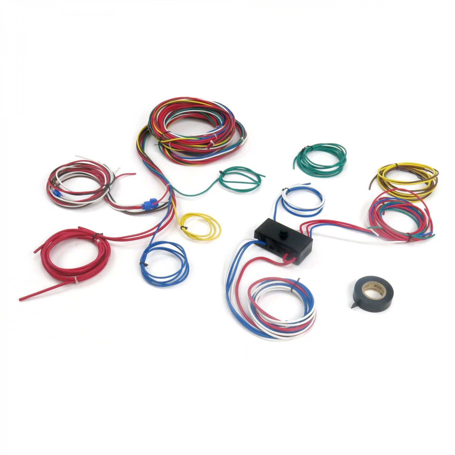 vw buggy wiring harness dune buggy wiring harness dune buggy universal wiring harness w/ fuse box fits empi ...