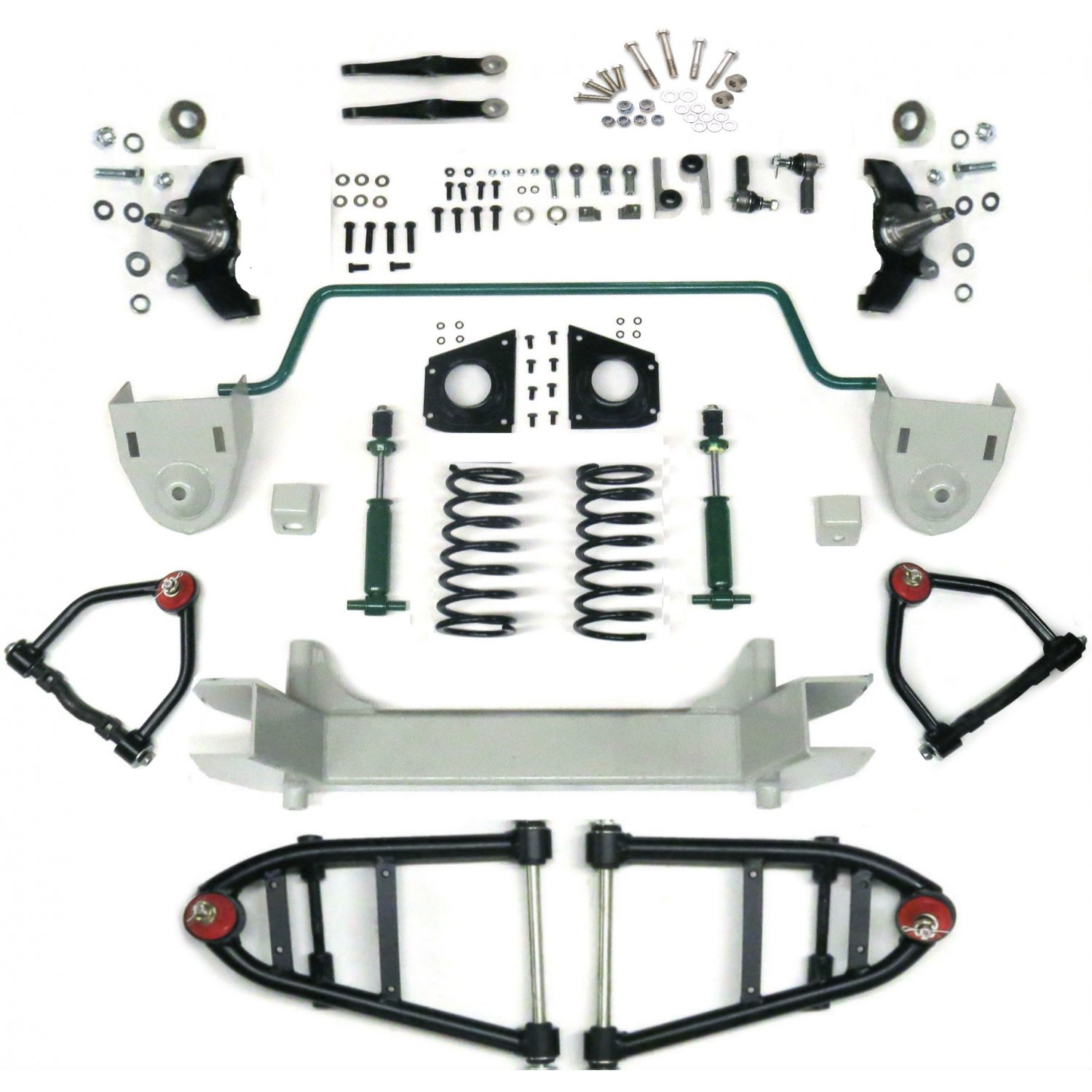 mustang ii 2 ifs front end kit for 52  austin stage
