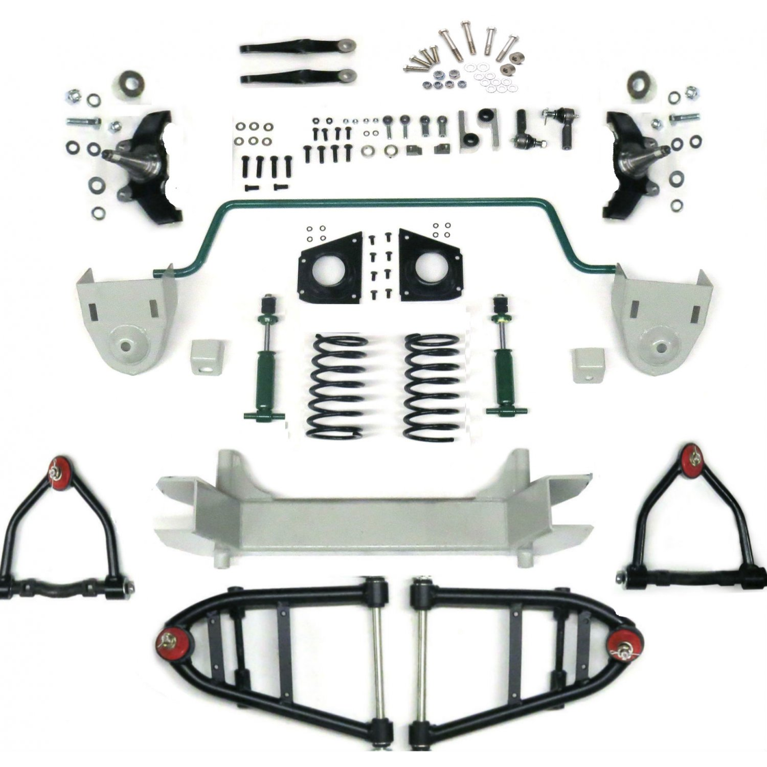 mustang ii 2 ifs front end kit for 59