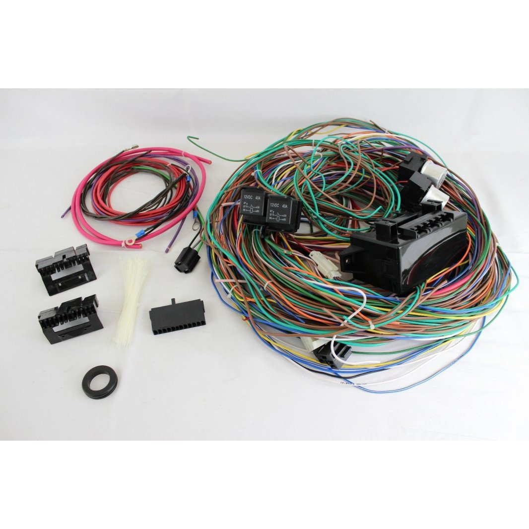 1963 1966 chevrolet c10 truck wire harness upgrade kit fits painless ebay
