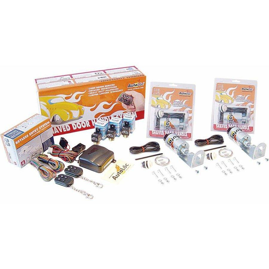 Buy 4 Function 50 Lbs Remote Shaved Door Popper Kit Streetrod Camper Poppers Wiring Diagram Scta Backup