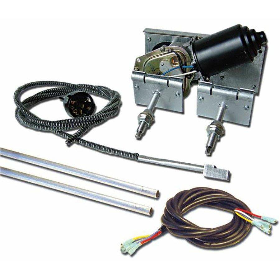 New first class wiper power windshield kit hot street rod for Windshield wiper motor kit