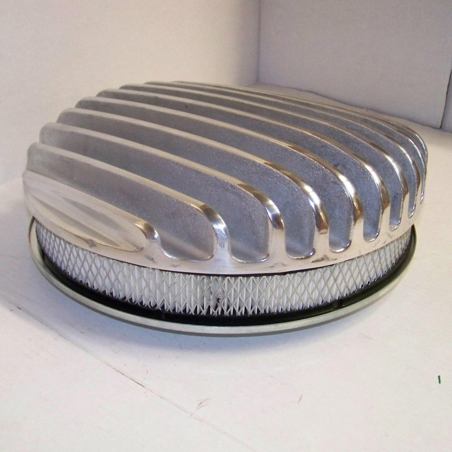 Street Rod Air Cleaners : Sand cast street rod air cleaner for bbc sbc chevy motor