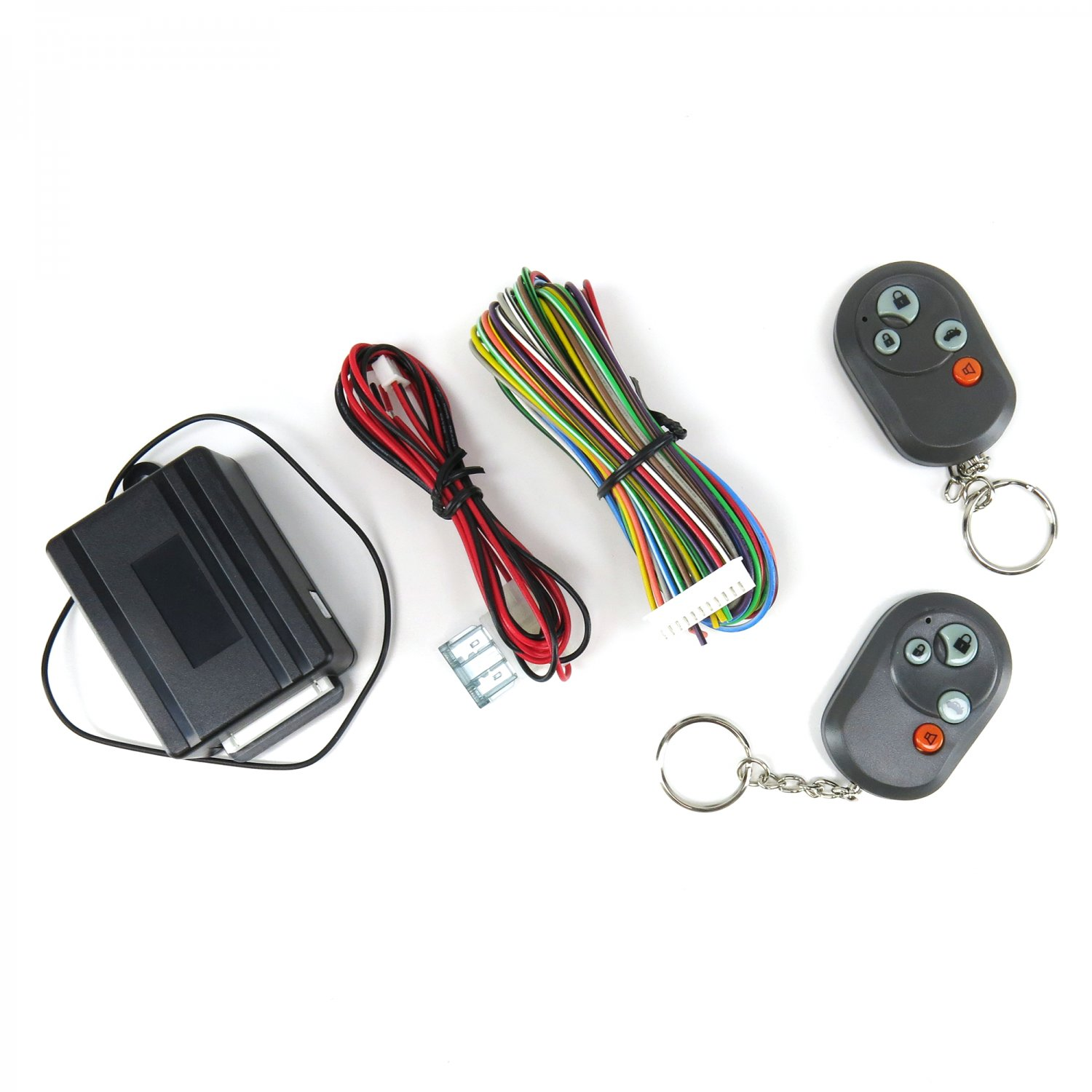 Remote Keyless Entry Door Lock Unlock Kit Dodge V6 302 V8 350 Chevy Wiring Harness Jeep Standard Features