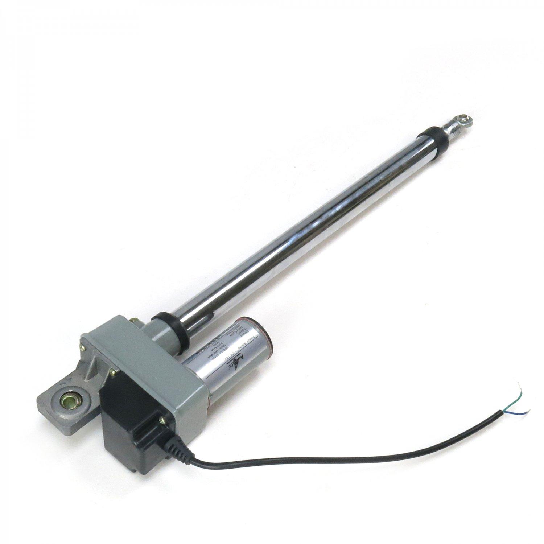 Heavy Duty 10 Inch Linear Actuator Lift Hood Adjustable Stroke 200lb 12 Volt DC