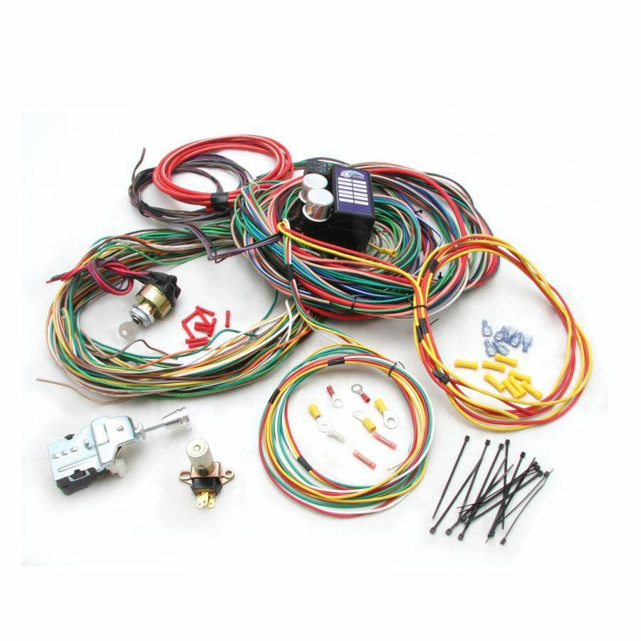 74 and up jeep cj6 cj7 main wire harness system bbs scta. Black Bedroom Furniture Sets. Home Design Ideas
