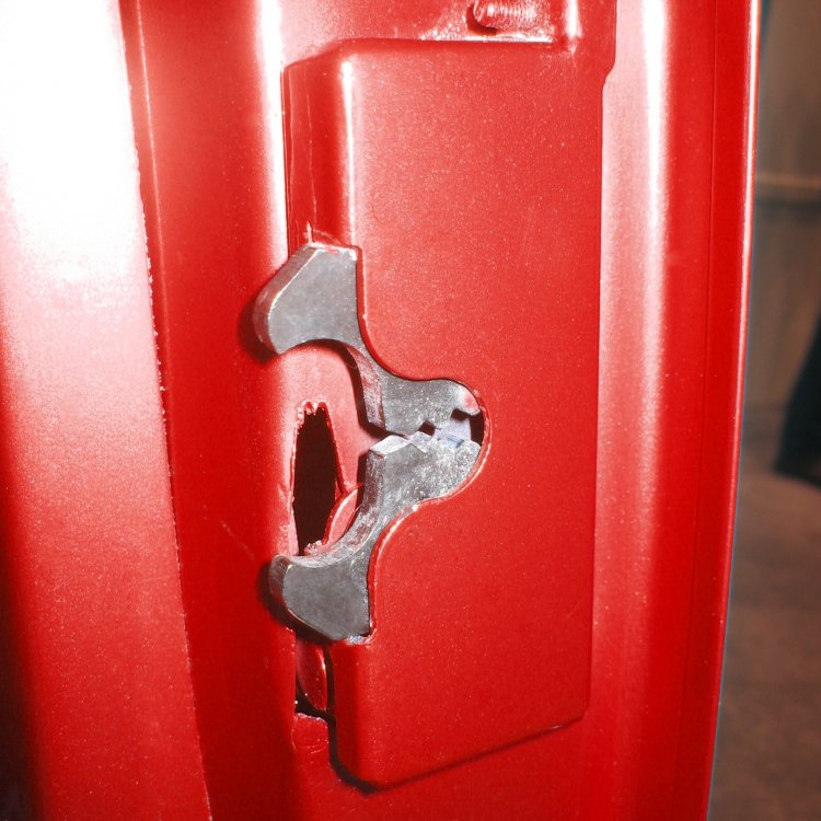 Small Locking Cat Jaw Claw Door Latches W Installation