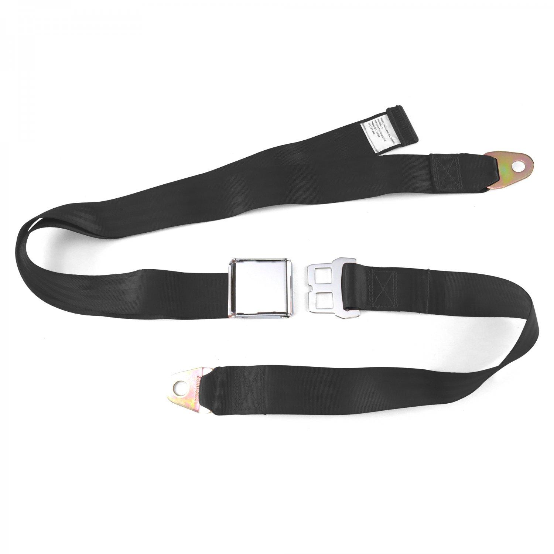 2pt Aqua Retractable Seat Belt Standard buckle Each SafTboy STBSB2RSAQ rat