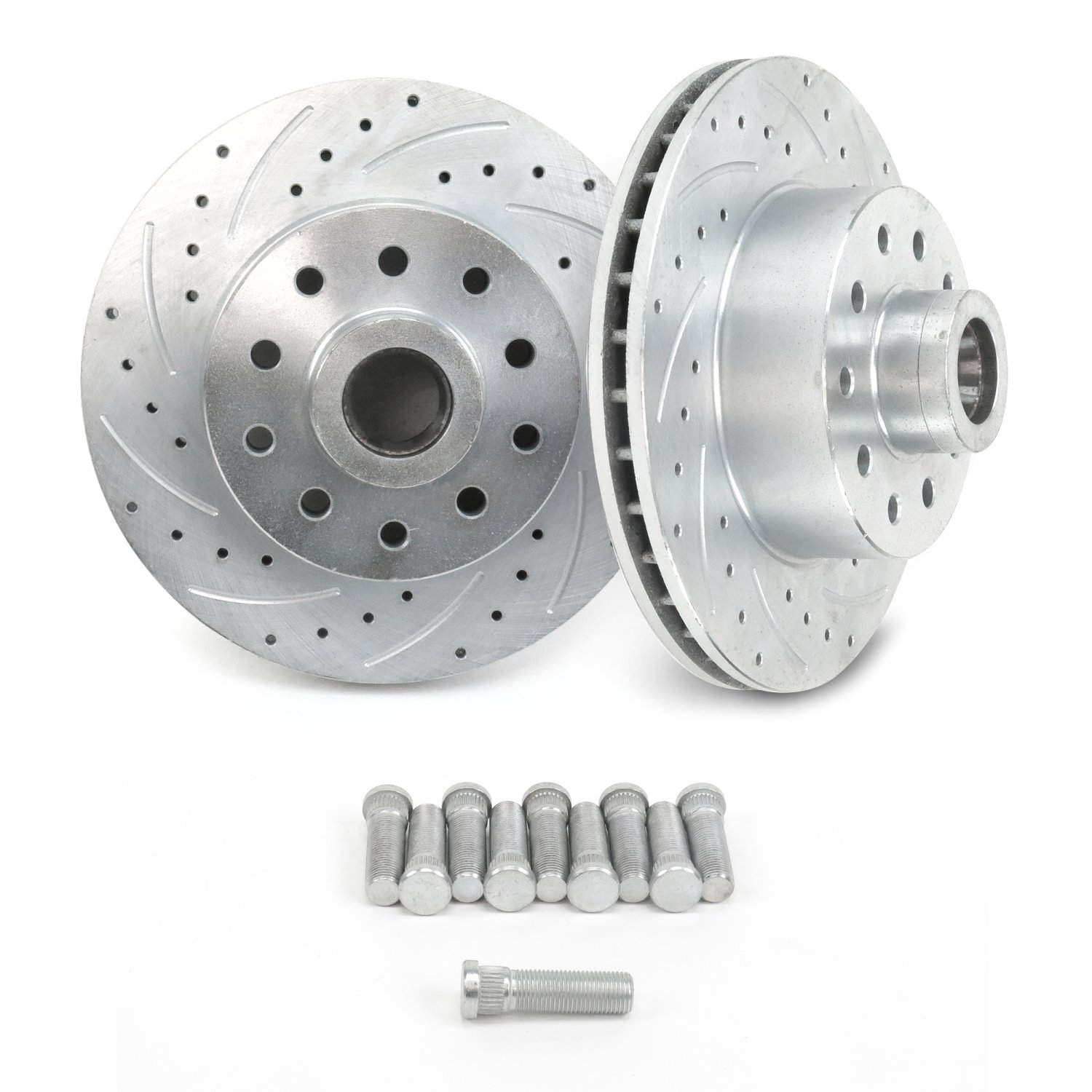 Details About Ford Mustang Ii 11 Front Disc Brake Slotted Rotors 5 X 4 Street Rod Pair