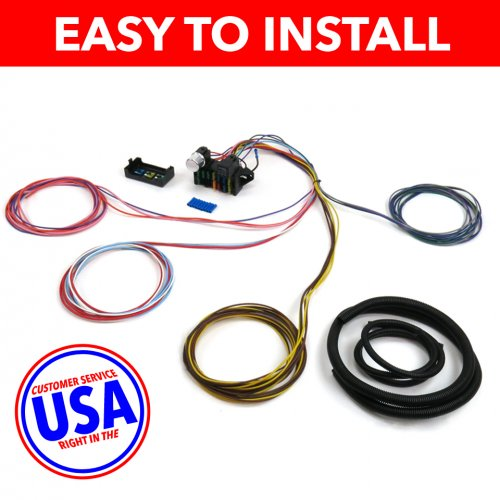 wiring harness 1966 fairlane gt 1966 1969 ford fairlane gt  gta  cobra ultra pro wire harness  1966 1969 ford fairlane gt  gta