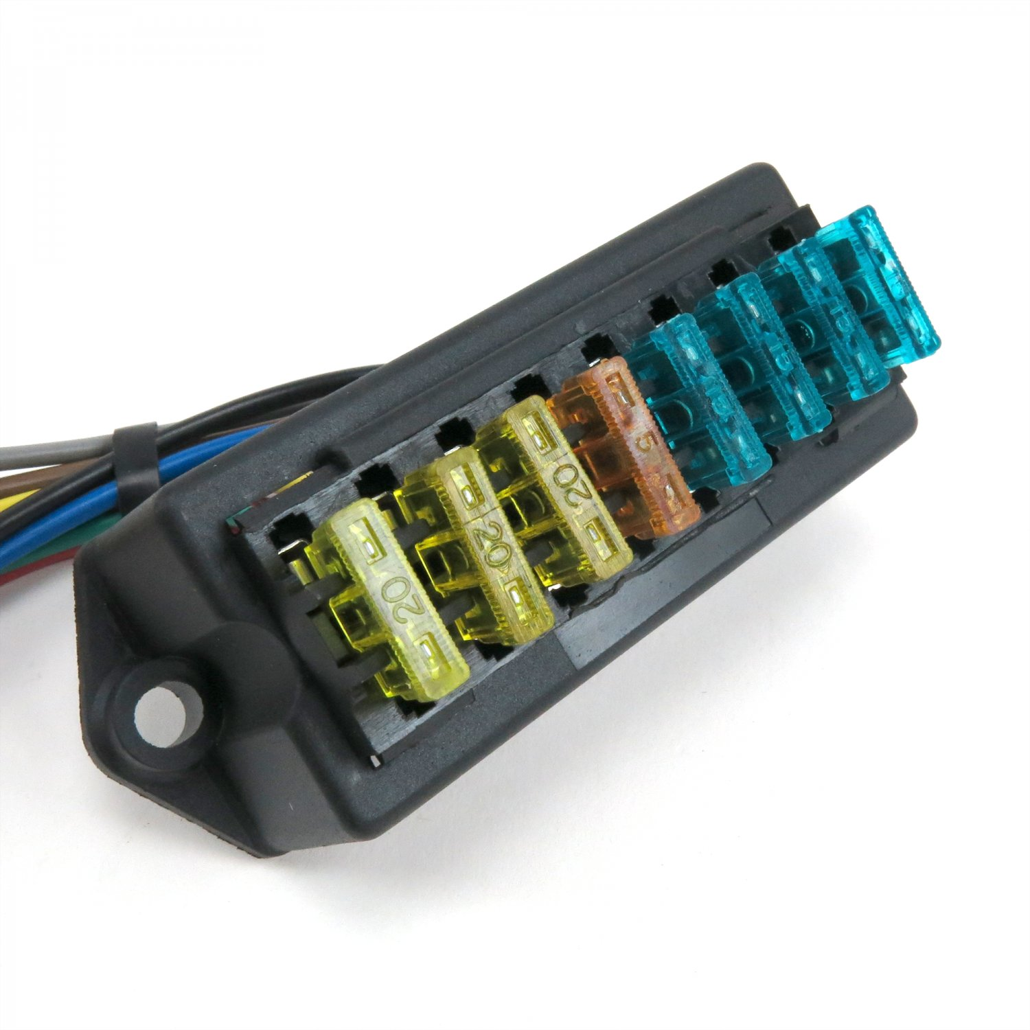 Universal Fuse Block Blocks For Cars Wire Diagrams Automotive Box 8 Atc With Cover Keep It Clean Kickfb1 Truck