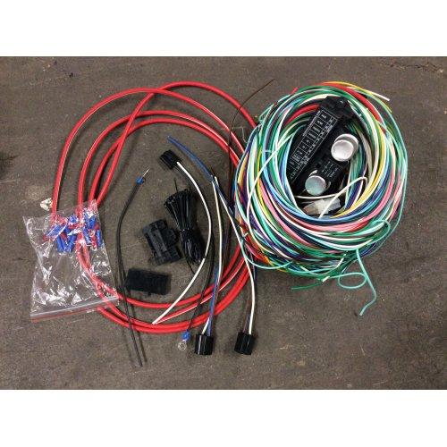 69-72 Chevy FS Blazer Modern Wiring Harness upgrade w Fuse Panel Jimmy  Suburban | eBayeBay