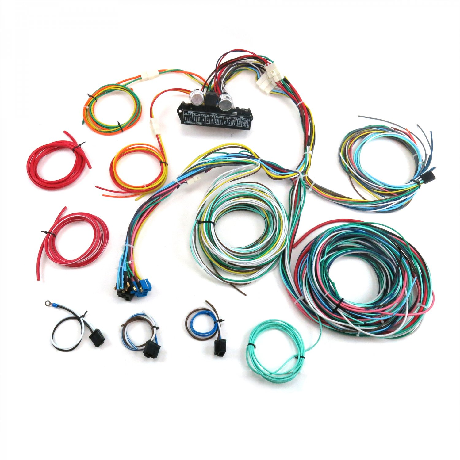 1950-1954 Chevy Car Complete Modern Update Re-Wiring Harness 12v  Conversion. Bar_Product_Description_C