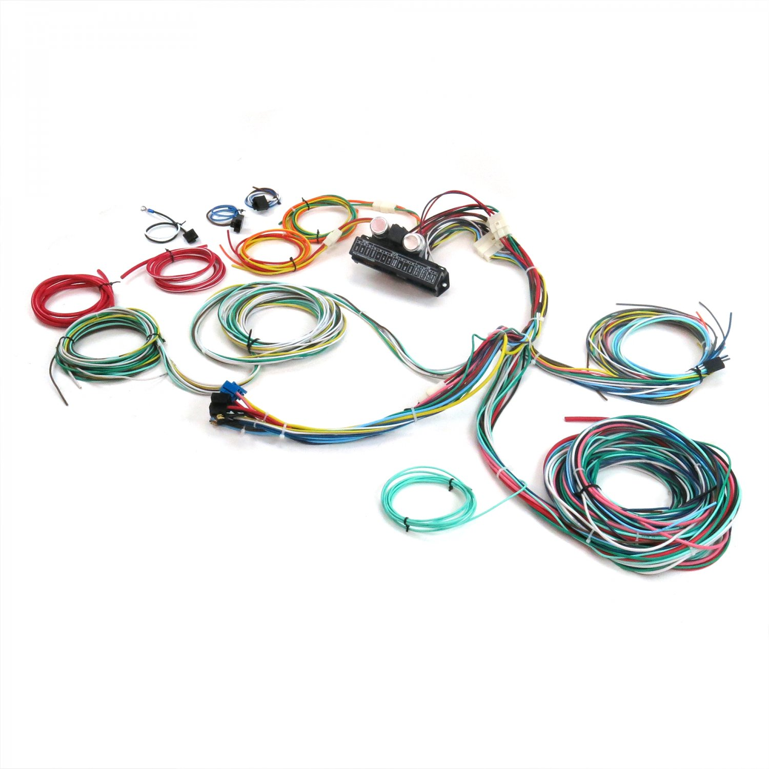 Auto Wire Harness Re Wiring Kit For Any 80 86 Ford Truck 12v Kits American Standard