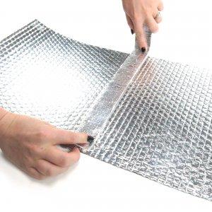 Heavy Duty Heat Shield Reflecting Thermal Tape Exhaust Header Wrap 1 Roll