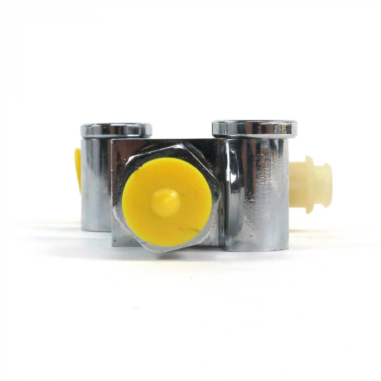 Drum Brake Proportioning Valve Master Cylinder Booster Universal Chrome Disc