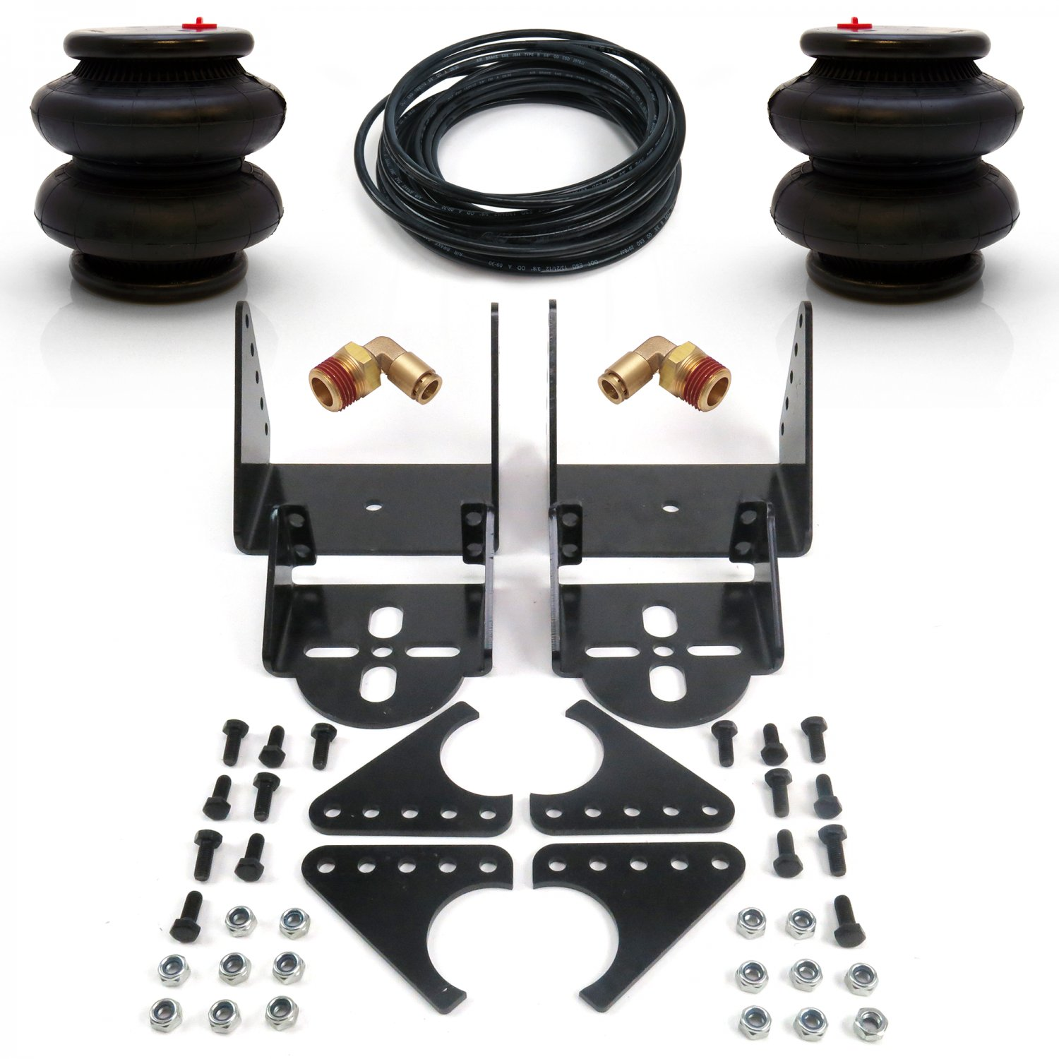rear axle lower air bag mounting brackets air ride suspension weld on pair 3.25/""