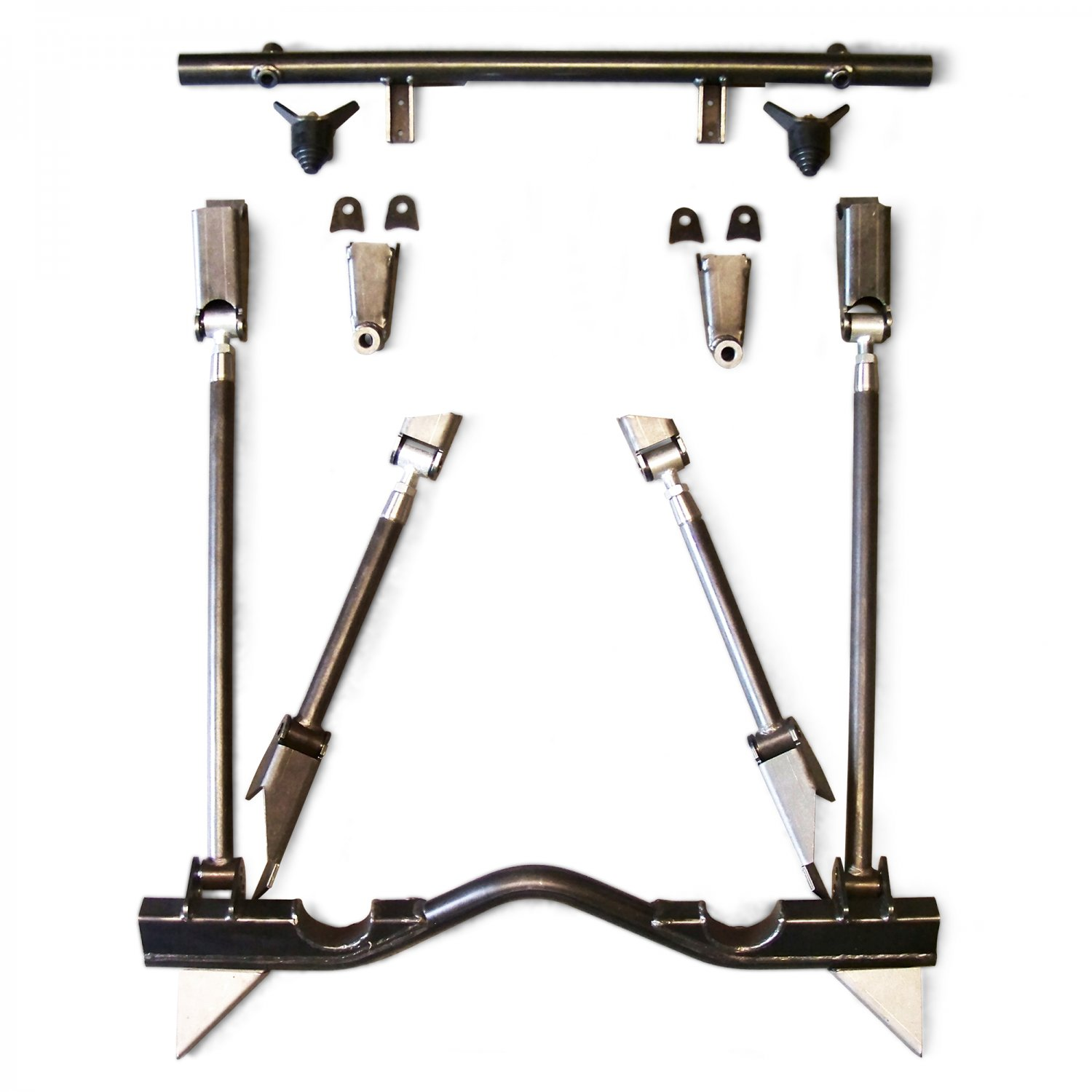 Details about 55-57 Chevy Tri-Five Triangulated 4-Link Bracket Only Kit  suspension front parts