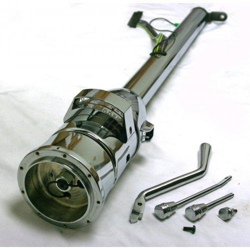 """Shift Indicator GM Adapter 33/"""" Chrome Steel Tilt Column Shift Steering Column"""