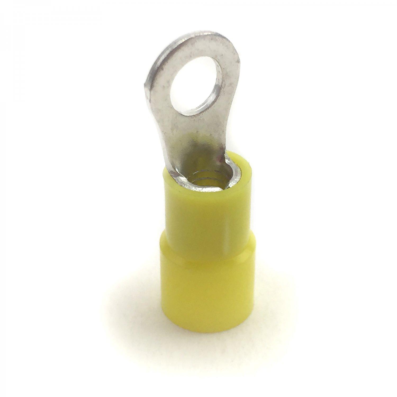 Pro Braking PBF7783-YEL-SIL Front Braided Brake Line Yellow Hose /& Stainless Banjos