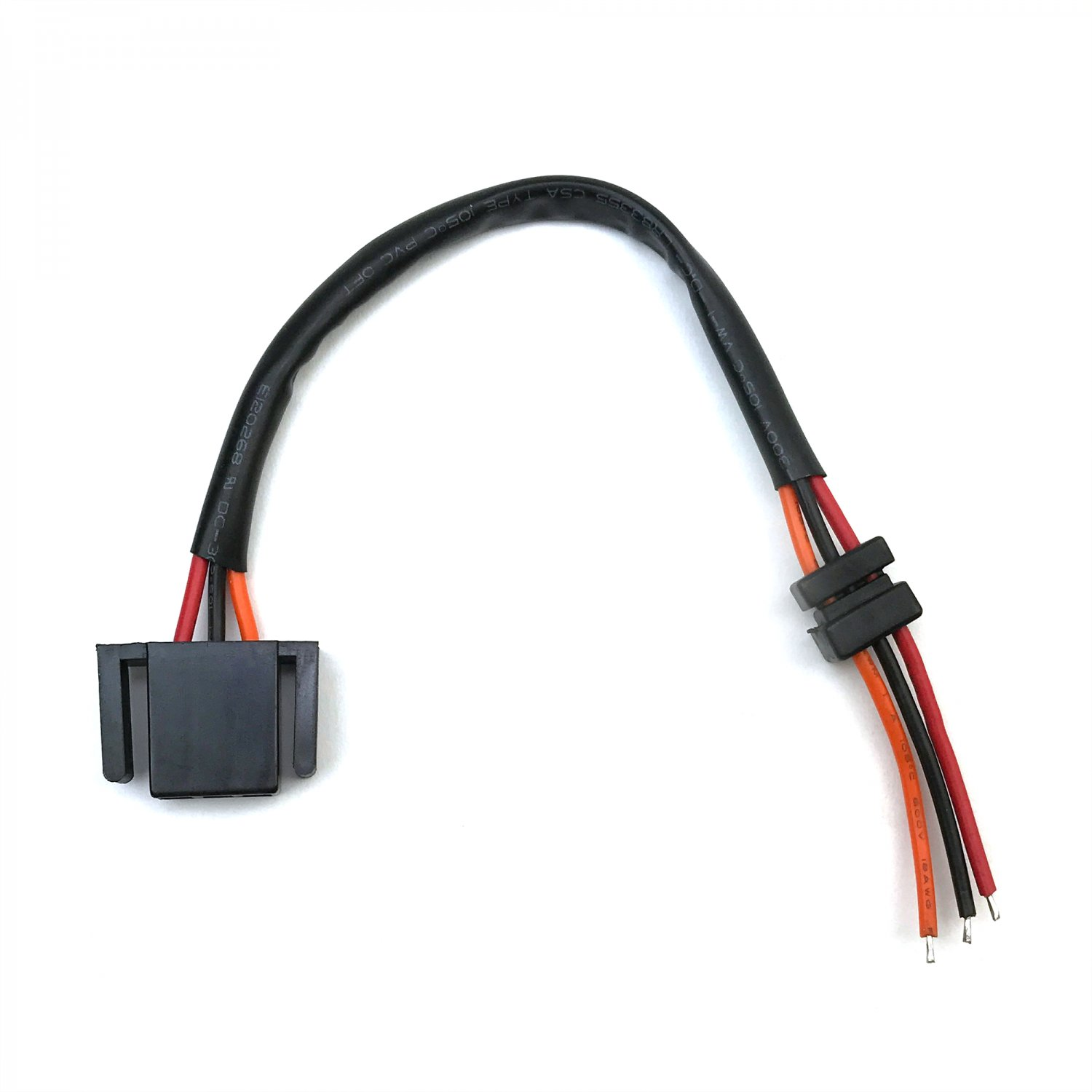 Hei Distributor Wire Harness Pigtail Dual 12v Power And Tach Wiring Click To Enlarge