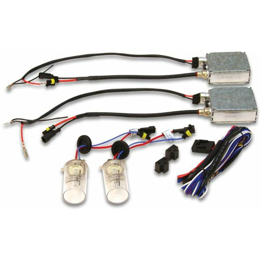 2 Ion Hid 4300 Color Temp 9007 Hi Lo Stage Bulbs W Plug N Play In Snap Wiring Harness Wire