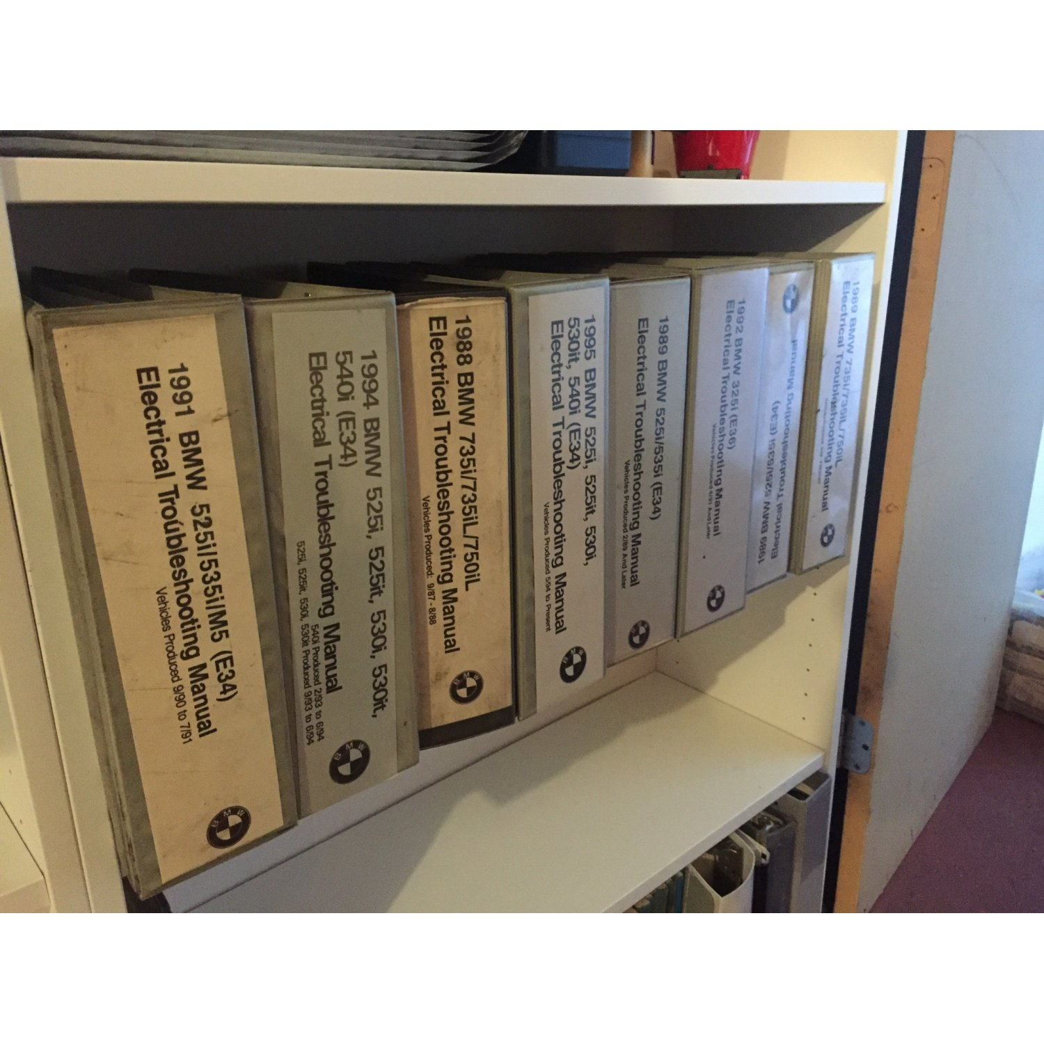 Details about Lot 8 BMW Rare Books ~ Factory Electrical Troubleshooting  Manual E36 M3 M5 E34