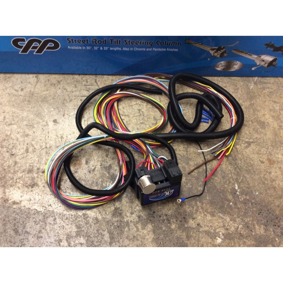 Clean Custom Wiring Harness Explained Diagrams Pro Comp Keep It 12 Fuse Wire System Toyota
