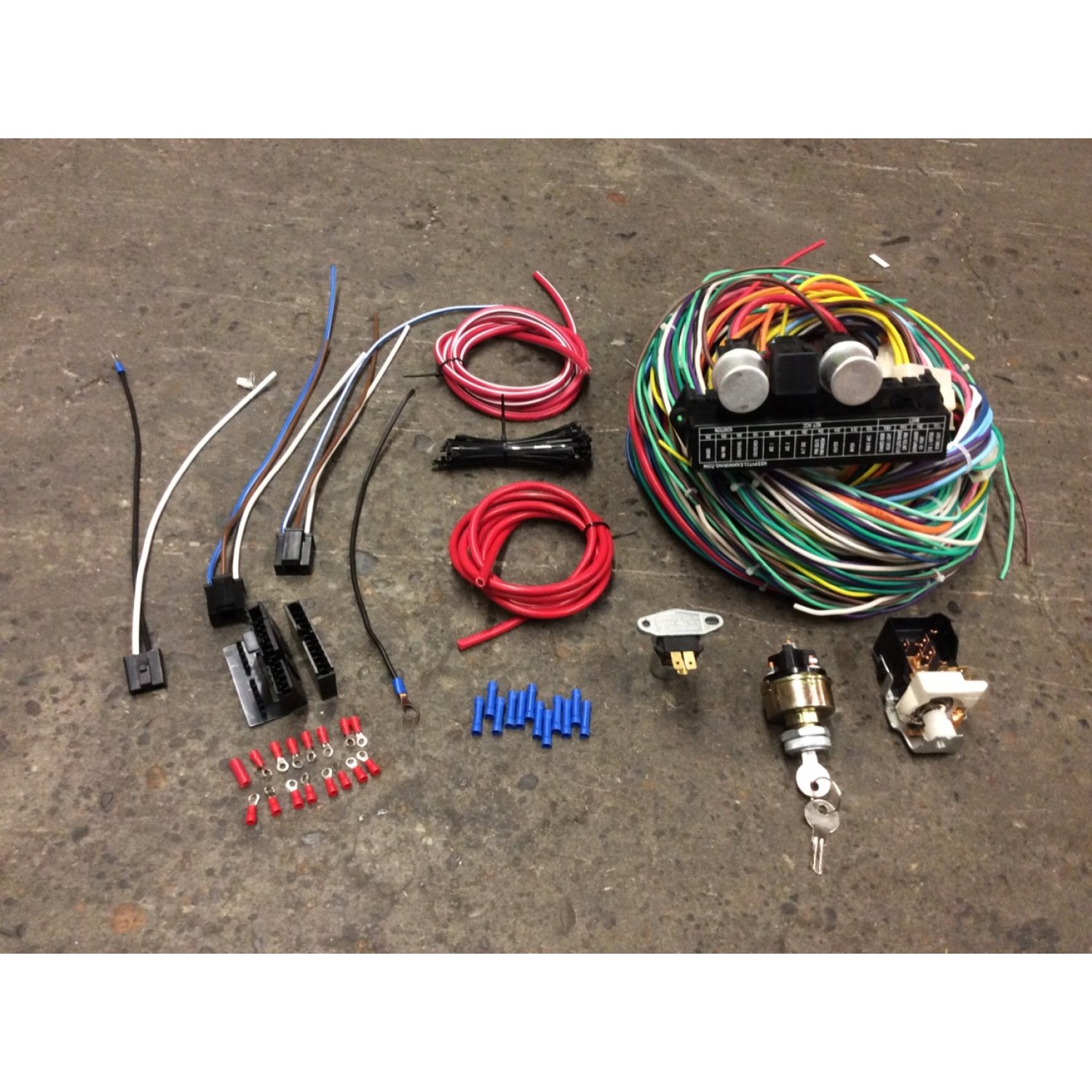 [QNCB_7524]  1940-46 Chevy GMC Pickup Full Wiring Harness & Headlight Switch Upgrade Kit  T16 | eBay | Chevy Truck Wiring Harness Ebay |  | eBay