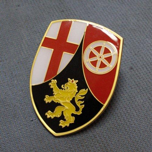 Rhineland-Palatinate Rheinland-Pfalz VW Volkswagen Hood Crest split okrasa bug