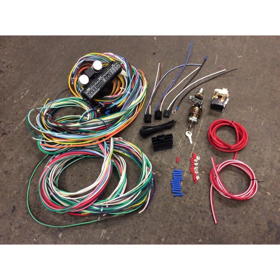 Details about 1958-88 AMC 118 Terminal 15 Fuse Wiring Harness Headlight on