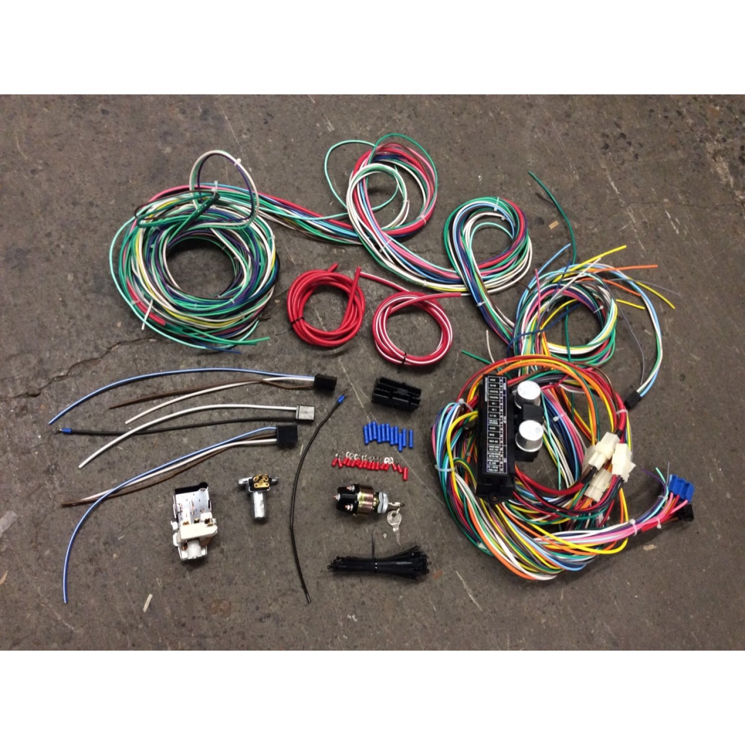 1963-66 Chevy C10 Wiring Harness GMC Keyed Ignition/ Headlight Dimmer  Switch K10 | eBayeBay