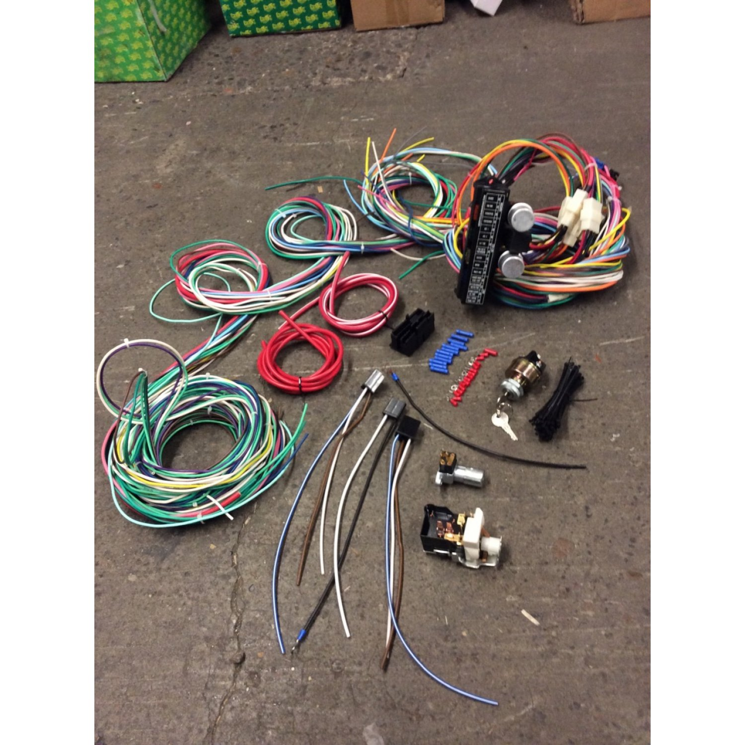 1981-87 Dodge Charger 118 Terminal Wiring Harness