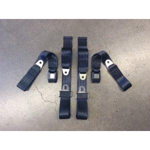 Adjustable Seat Belt Car Truck Lap Belt Universal 2 Point Safety Travel AQUA