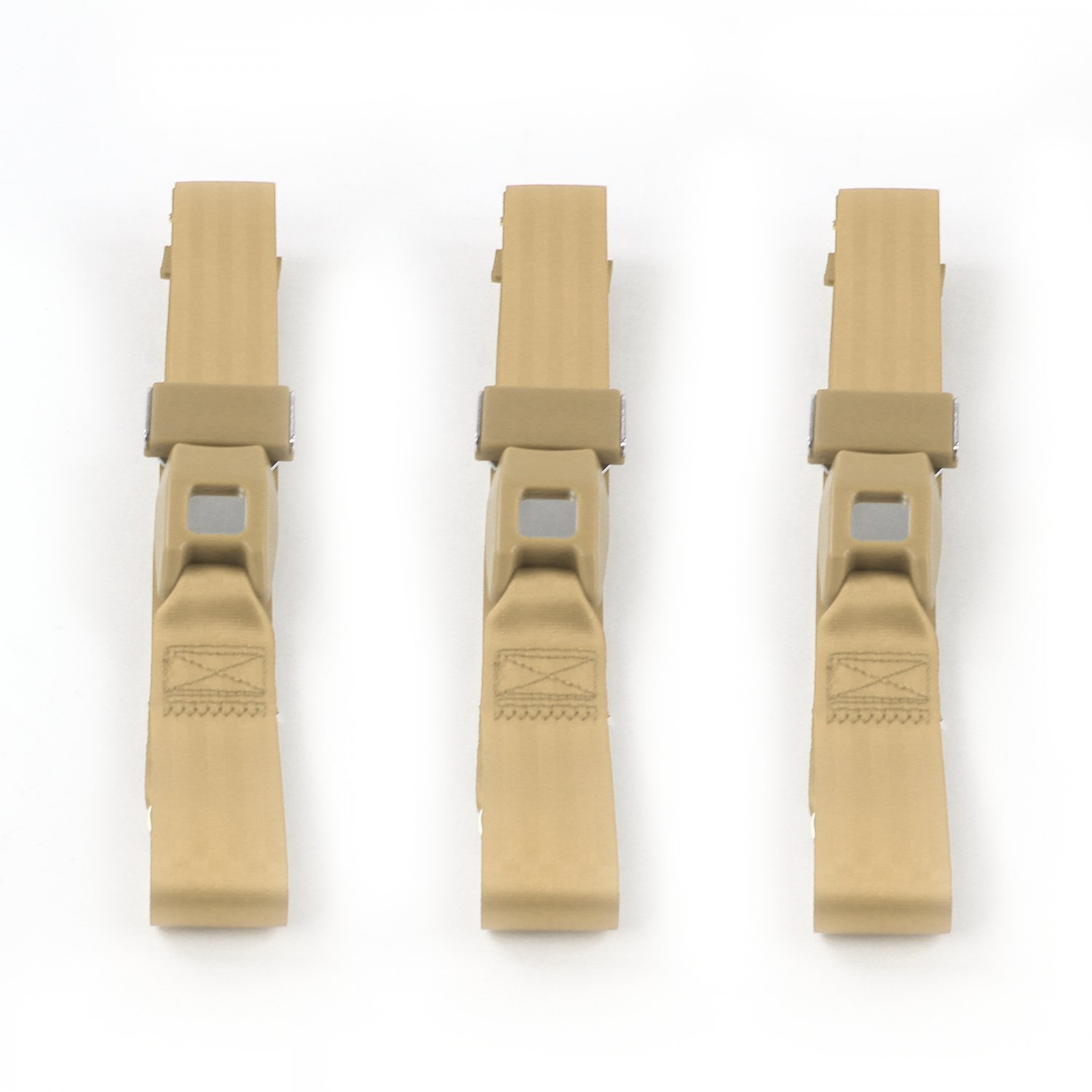 Ford Thunderbird 1961-1966 Airplane 2pt Tan Lap Bucket Seat Belt Kit 2 Belts