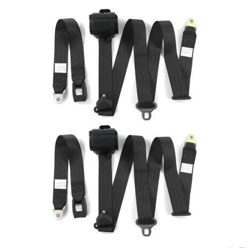 2 Belts harness Camaro 1993-2002  Standard 2pt Tan Lap Bucket Seatbelt Kit