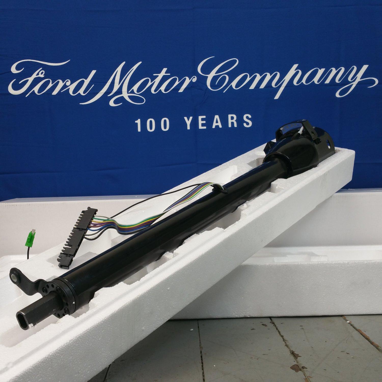 1980 1986 Ford Truck Or Bronco Black Tilt Steering Column No Key 1941 Col Shift New Bar Product Description C