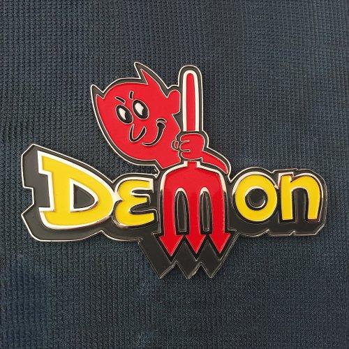 THREE DECAL SET DEMON with PITCHFORK DECALS QG-348 1971-72 DODGE