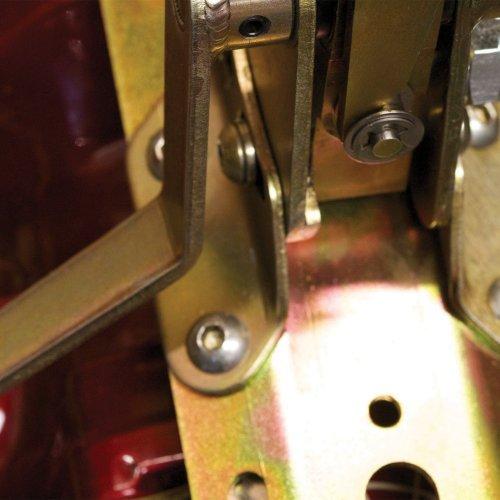 GM Powerglide Transmission Shifter Kit 10 Single Bend Black Arm //Knob muscle
