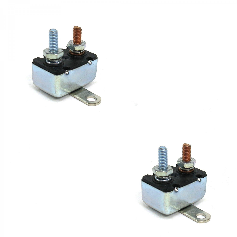 Details about 15 Amp 12 Volt Automotive Marine Circuit Breaker Reset on